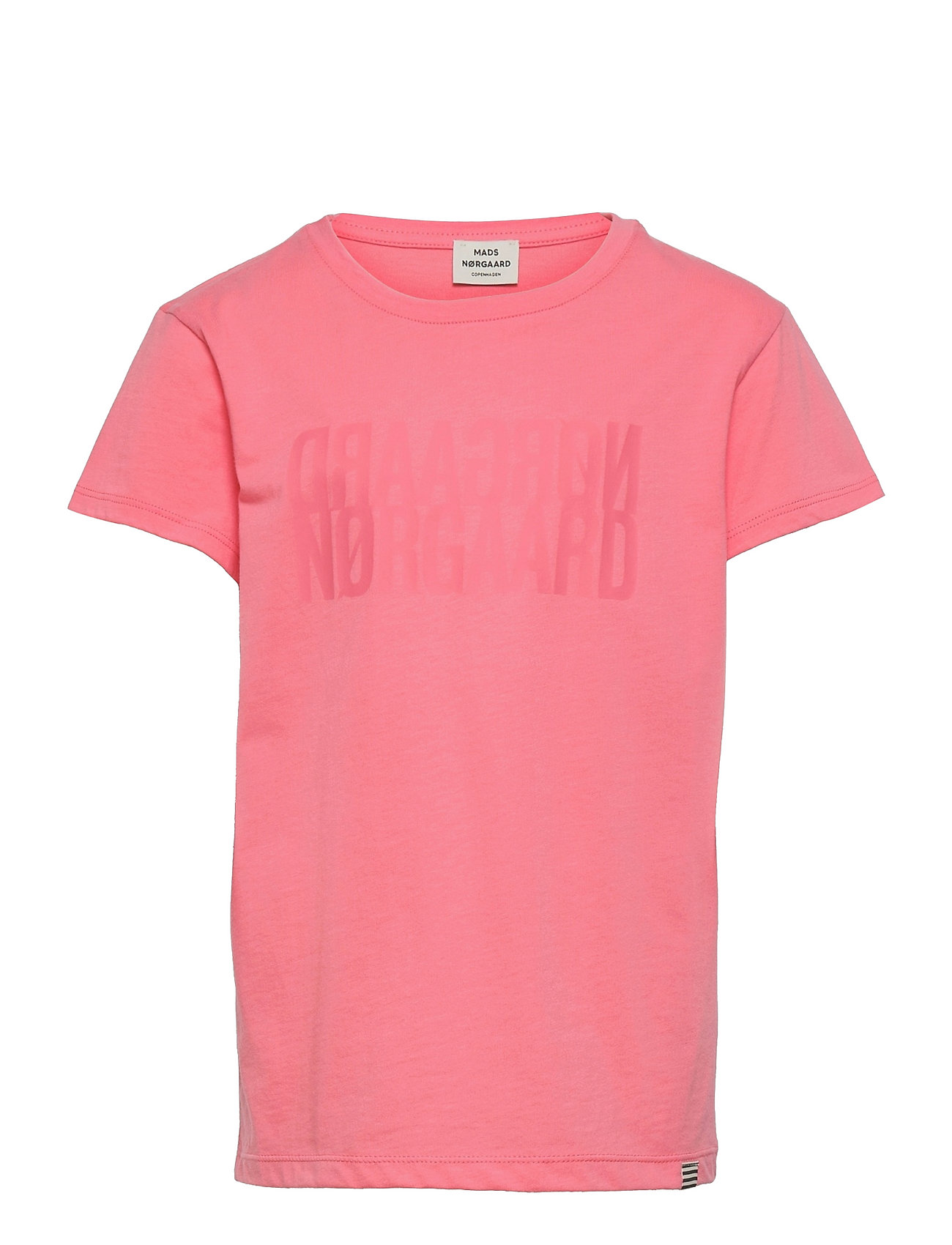 Single Organic Tuvina T-shirt Lyserød Mads Nørgaard
