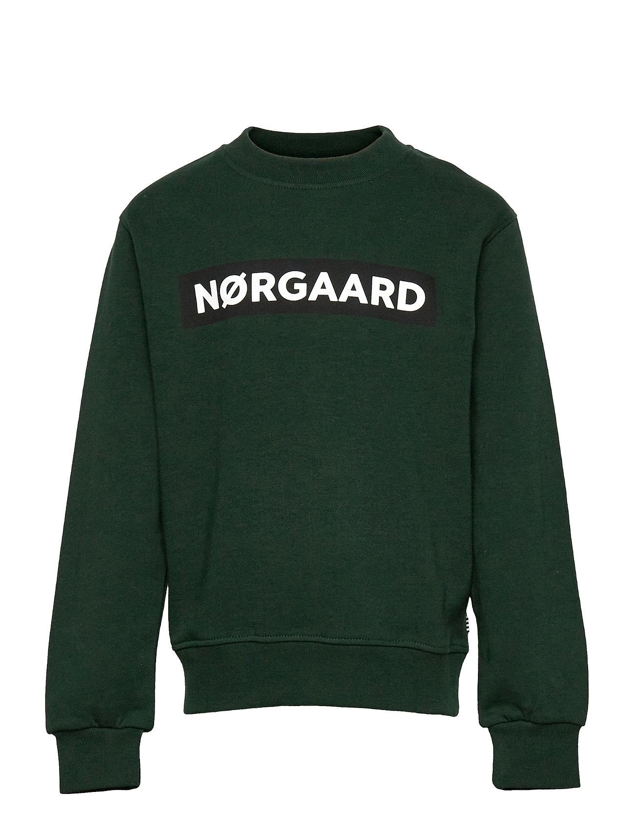 Organic Sweat Solo Sweatshirt Trøje Grøn Mads Nørgaard