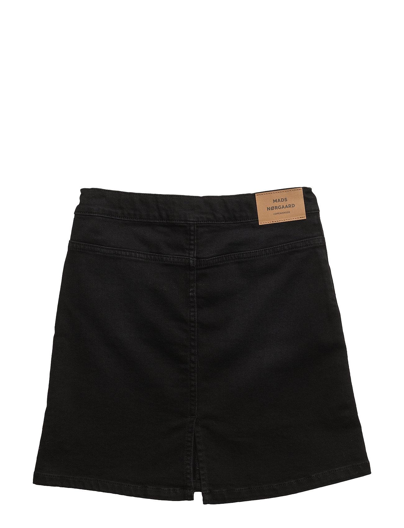 Mads Nørgaard - Washed Black/Black Safrana - röcke - washed black - 1