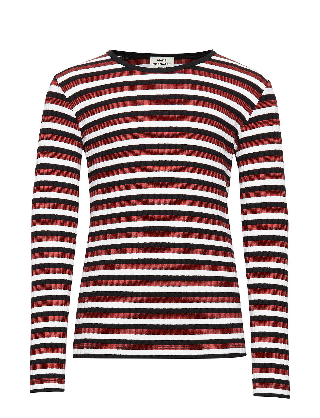 Mads Nørgaard 5x5 Happy Stripe Talino - BLACK MULTI