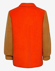 Mads Nørgaard - Knitted Wool Costanna - wool jackets - multi red - 2