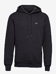 Mads Nørgaard - New Standard Hoodie Badge - basic sweatshirts - charcoal melange - 1