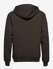 Mads Nørgaard - New Standard Hoodie Logo - basic sweatshirts - forest night - 1