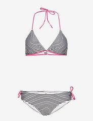 Mads Nørgaard - Ibiza Bikinna B - bikini set - white/black/shiny pink - 0