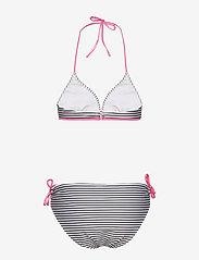 Mads Nørgaard - Ibiza Bikinna B - bikini set - white/black/shiny pink - 1