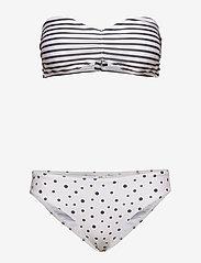 Mads Nørgaard - Ibiza Binna Boo - bikini set - off white/black - 2