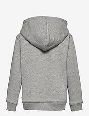 Mads Nørgaard - New Standard Hudini Zip - hoodies - grey melange - 1