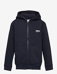 Mads Nørgaard - New Standard Hudini Zip - hoodies - parisian night - 0
