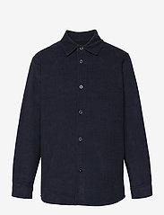 Mads Nørgaard - Dyed Baby Cord Svantini - shirts - parisian night - 0