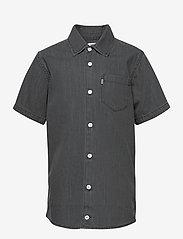 Mads Nørgaard - Dark Soft  Svantino Short - shirts - dark washed - 0