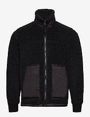 Mads Nørgaard - Chunky Fleece Jeff - basic-sweatshirts - charcoal melange - 0