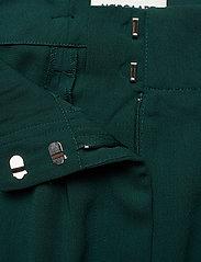 Mads Nørgaard - Crepe georgette Pleasy - bukser med brede ben - dark petrol - 2