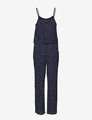 Mads Nørgaard - Neo paris Catzilla - jumpsuits - navy dot - 1