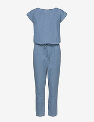 Mads Nørgaard - Soft Indigo Cavi - jumpsuits - pale indigo - 0