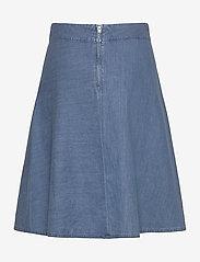 Mads Nørgaard - Soft Indigo Stelly C - jeansowe spódnice - pale indigo - 1