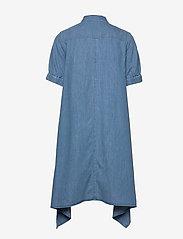 Mads Nørgaard - Soft Indigo Dancella - skjortekjoler - pale indigo - 1