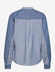 Mads Nørgaard - Light Indigo Sylle - jeansblouses - mid blue - 2
