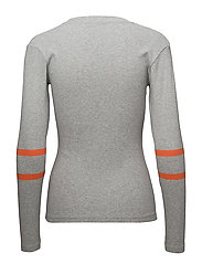 1x1 Soft Sport Tuba s - GREY MELANGE/ORANGE