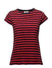 Single stripe Teasy - NAVY/RED
