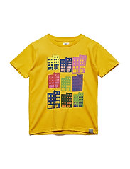 Printed Tee Thorlino House - GOLDEN ROD