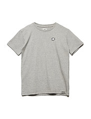 Badge Tee Thorlino - GREY MELANGE