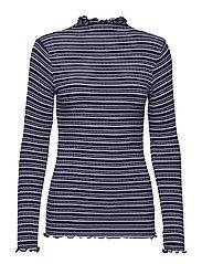 5x5 Cool Stripe Trutte s - NAVY/ECRU