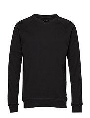 Cotton Rib Stelt - BLACK