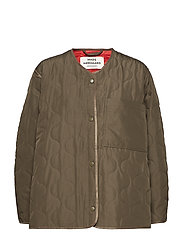 Ripstop Quilt Colina - ARMY BROWN