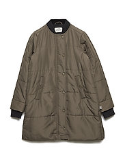 Ripstop Quilt Campini - ARMY BROWN