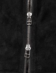 Mads Nørgaard - Leather Jusuf - nahkatakit - black - 3