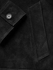 Mads Nørgaard - Leather Jusuf - nahkatakit - black - 4
