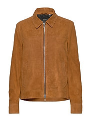Leather Jusuf - COGNAC