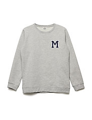 Brushed Sweat Solomino - GREY MELANGE