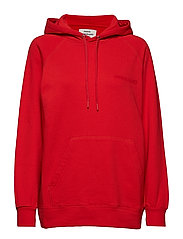 Organic sweat Seally Flock - WARM RED