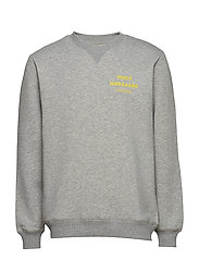 Logo Sweat Crewneck - GREY MELANGE