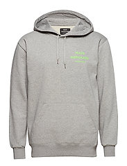 Sustainable Cotton Hoodie - GREY MELANGE