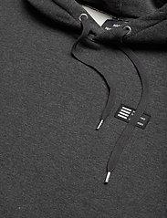 Mads Nørgaard - New Standard Hoodie Badge - basic sweatshirts - charcoal melange - 3