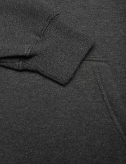 Mads Nørgaard - New Standard Hoodie Badge - basic sweatshirts - charcoal melange - 4
