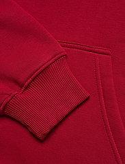 Mads Nørgaard - New Standard Hoodie Badge - basic sweatshirts - rio red - 3
