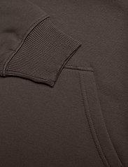 Mads Nørgaard - New Standard Hoodie Logo - basic sweatshirts - forest night - 3