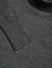 Mads Nørgaard - 100% Wool Klemens - basic strik - charcoal melange - 2