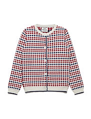 Iceland Kids Carmino - ECRU/RED/NAVY