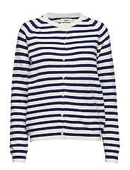 Cosy stripe Cimona stripe - ECRU/NAVY