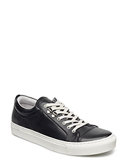Leather Sneak Madson - BLACK