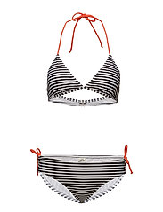 Vita Bikinna B - WHITE/BLACK/ORANGE