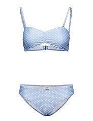 Vita Binna - LIGHT BLUE/WHITE DOT