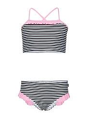 Vita Bikinina F - BLACK/WHITE/PINK