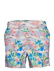 Beach Print Swim - FANTAIL
