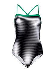 a3185de55d27 Ibiza Swimma - BLACK WHITE GREEN