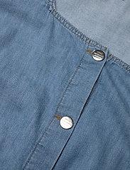 Mads Nørgaard - Light Indigo Cammy - tøj - soft blue - 3